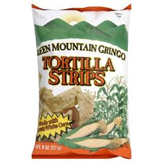 Green Mountain Gringo Organic White Corn Tortilla Strip, 8 Ounce -- 12 per case. ** See this great product.