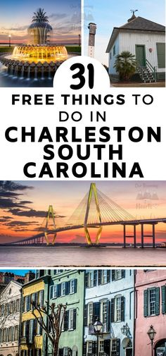 Rich in both US history and old architecture Charleston is full of fun and exciting things to do. Here are some great free things to do in Charleston SC. #southcarolina #charleston #thingstodo #freethingstodo #ourroaminghearts #frugaltravel | Frugal Travel | Budget-Friendly Travel | Charleston South Carolina | Things to do in Charleston | Free things to do in Charleston SC | South Carolina Travel
