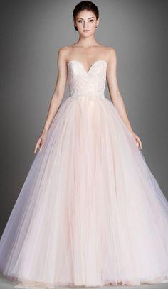 Wedding dress idea; Featured Dress: Lazaro