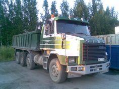 Photo by Matti Hallikainen Big Rig Trucks, Dump Truck, Commercial Vehicle, Finland, Transportation, Vehicles, Japan, Cars, Classic