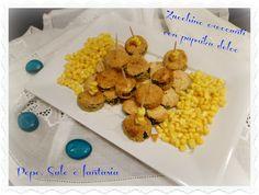 Zucchine croccanti con paprika dolce