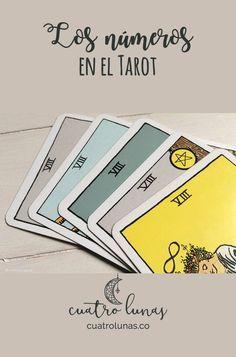 Los números en el Tarot nos pueden dar pistas sobre su significado y la energía que tienen.