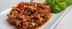 Veganes Rohkost Chili