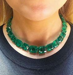 @kimberleysmith8. Simple, Chic and Pretty Spectacular All Colombian emeralds