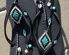Flip Flops Bohemian Sandals Rose Gold Havaianas Sandals &