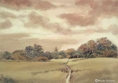 Por amor al arte: Mineke Reinders Watercolor Sky, Gouache Painting, Natural, Album, Masters, Paintings, Amor, Water Colors, Artists