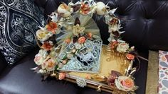 Multipurpose  platters ♡ Floral Wreath, Wraps, Design, Home Decor, Floral Crown, Decoration Home, Room Decor, Home Interior Design