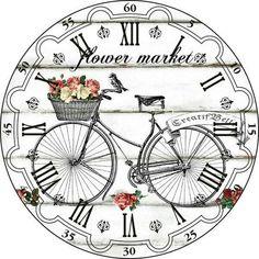 Новости Vintage Labels, Vintage Ephemera, Vintage Posters, Clock Art, Diy Clock, Clock Face Printable, Wood Clocks, Antique Clocks, Decoupage Paper
