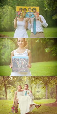 Beatles Wedding Inspiration from @Leigh Pearce Weddings and Anna Paschal Photography