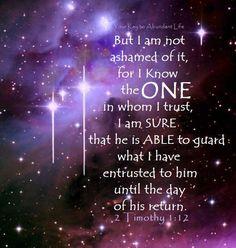 II Timothy 1:12