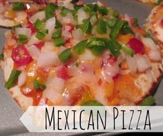 Mexican Pizza {Taco Bell} - these taste just like those Mexican Pizzas from Taco Bell!