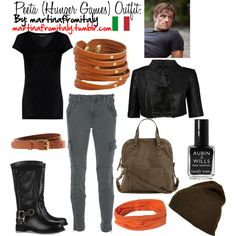 Peeta (Hunger Games) Outfit