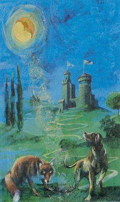 The Moon - The Romantic Tarot