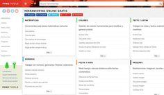 PineTools es una página que nos ofrece centenares de aplicaciones web gratuitas, no necesitan registro, para realizar todo tipo de tareas.