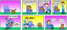 Garfield & Friends   The Garfield Daily Comic Strip for March 01st, 1981