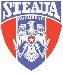 """Steaua Bucuresti old logo 1990-1998 Este prima siglă de după căderea comunismului. Apare ca simbol un vultur, care era folosit atît pe sigla Ministerului Apărării, cît şi pe stema naţională a României. De fapt, fusese şi simbolul Armatei Regale. Vulturul ţine în gheare două săbii şi pentru prima dată apare şi un motto: """"Citius, Altius, Fortius"""", ceea ce se traduce prin """"mai rapid, mai sus, mai puternic!"""" Juventus Logo, Team Logo, Barcelona, Club, Sports, Romania, Board, Coat Of Arms, Simple Logos"""