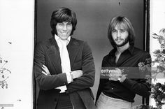 Barry and Maurice Gibb in 1969.
