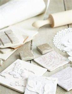 DIY:: Simple Way to Make Your own Beautiful Handmade Tiles !