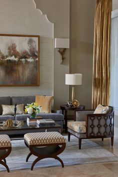 Anne Rue Interiors   Legacy Hill   Living Room