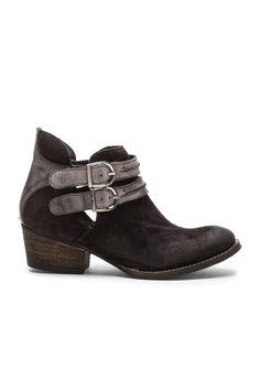 Rebels Calista Bootie in Black & Grey