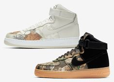 "new product 6d22c eeaa6 Nike Air Force 1 High ""Realtree Pack"" Release Date"