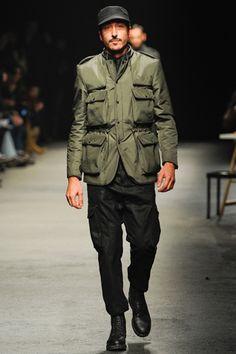 Umit Benan Fall 2012 Menswear | military inspired menswear | mens fashion