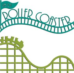 Rollercoaster ppt great to use for posters invitations for Coaster size template