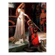 Cairn Terrier 4 - The Accolade Postcard