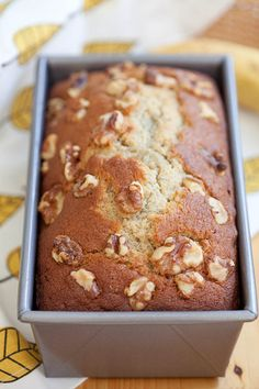 Banana bread – best homemade banana bread recipe ever! Moist, buttery, aromatic and packed with bananas and topped with walnuts. | rasamalaysia.com