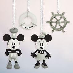 Steamboat Willie Sketchbook Minis Ornament Set   Disney Store