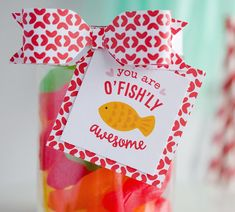 Sweet Valentine Gift Ideas | You Are OFishLy Awesome