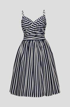 Capri Blue Stripes Dress from Lena Hoscheck