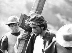 """""""Il Vangelo Secondo Matteo"""" -"""" the Gospel According to St. Matthew"""", 1964, Pier Paolo Pasolini. Enrique Irazoqui."""