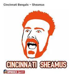 NFL/WWE LOGO: Cincinnati  Sheamus