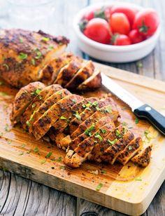 Simple Smoked Paprika Chicken / Pollo al Pimentón Ahumado #smokedpaprikapowder #pimentónahumado  Full recipe details: http://www.theironyou.com/…/super-simple-smoked-paprika-chi…