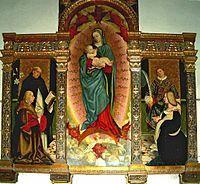 Triptyque Raspa (1516) Gerolamo Giovenone