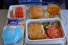 18 Airline Foods From Around The World