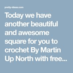 Today we have another beautiful and awesome square for you to crochet By Martin Up North with free Written pattern. Author says that he has got inspired by Arietis from Echtgaaf Haken. These beautiful squares will make your Interior ore beautiful if you will use it as coasters. You can also crochet beautiful blanket with …