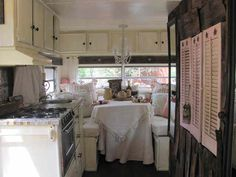 Campers Interiors, Shabby Chic Campers, Frou Style, Old Campers ...