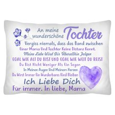 DE To my daughter I love you forever In love, Mom - Mutter Video Series, I Love You Forever, Love Mom, Heart Melting, Unique Recipes, Get The Job, Best Dad, Pin Collection, To My Daughter
