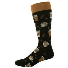 Men's Coffee Pattern Socks