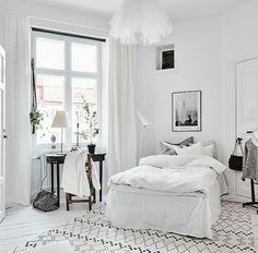Deko, Wohnen, Skandinavische Einrichtung, Skandinavisches Design, Schlafzimmer  Einrichtung, Schlafzimmer Mit Schrank
