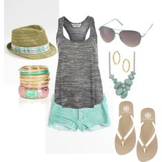 summer outfit for the beach...