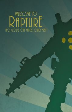 Bioshock Posters - Created by Dylan West  This poster is available for sale at Dylan's Etsy Shop.