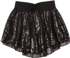 Capezio Girls 2-6X Pull-On Skirt 2-6X