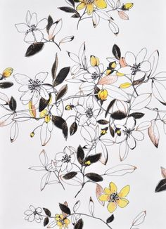 floral pattern, flower illustration