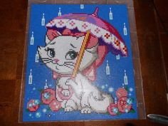 Marie Aristocats hama perler beads (20 pegboards) by  hardy8676