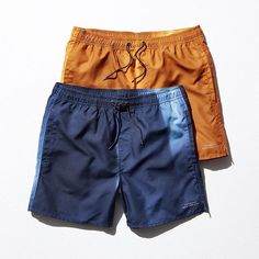 8658fdefc854 Spring 16 Boardshorts  Available in hues from midnight navy to bright  copper