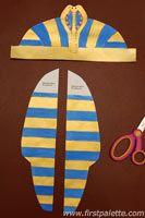 kinder basteln First Palette: Pharaoh Headdress craft Buying Diamonds: Selecting the Best Company Di Egyptian Costume Kids, Egyptian Crafts, Egyptian Art, Egyptian Headpiece, Headdress, Fun Crafts For Kids, Diy For Kids, Pharaoh Costume, Kids Costumes Boys