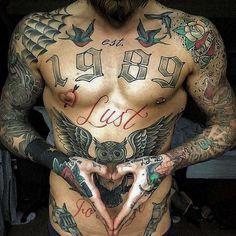 30+ Hot Tattooed Men & Guys Vous avez pas vu jamais - Club Tatouage